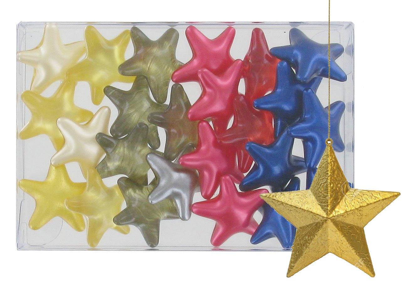 Box of 24 oil bath pearls - Stars 4 fragrances S&B SB110BTE24ETOILMIX