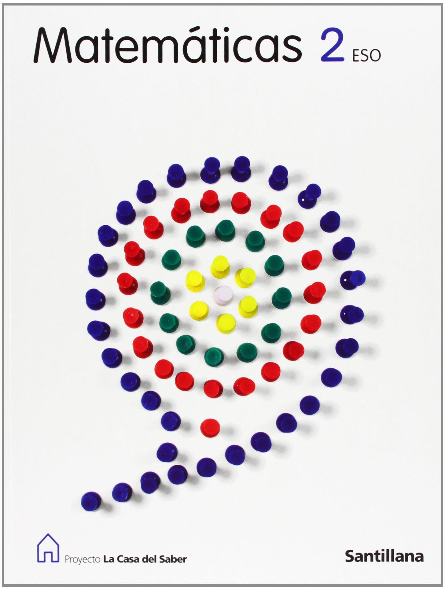 Proyecto La Casa Del Saber Matemáticas 2 Eso Vv Aa Amazon Es Libros