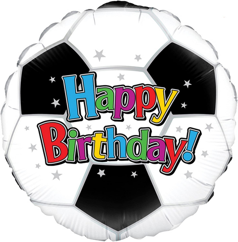 Oaktree - Globo redondo con forma de balón de fútbol modelo Happy ...