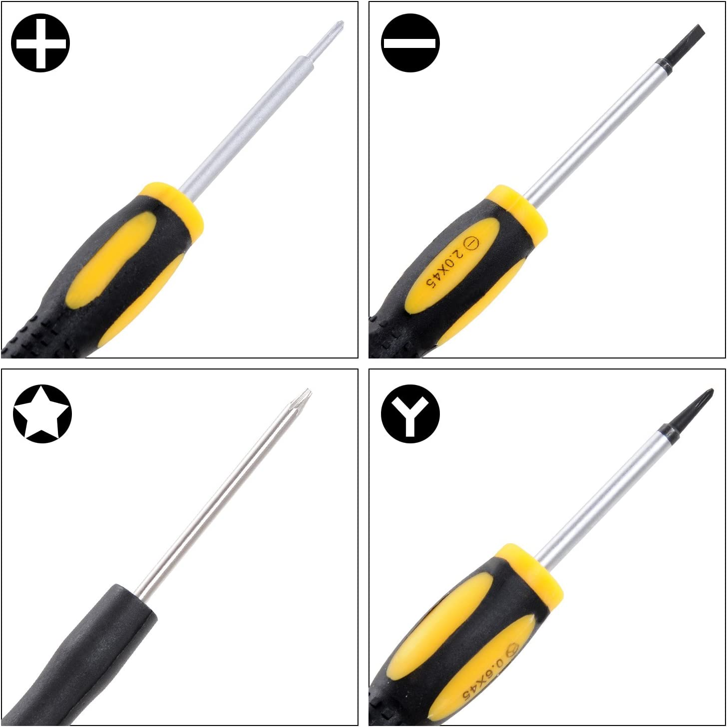 i9300 iPhone 4 /& 4S Family Must-Have Repair Tool for iPhone 5 Other Mobile Phone 8 in 1 Professional Versatile Screwdrivers Set for Phone Convenient iPad//Samsung Galaxy S IV i9500 S III