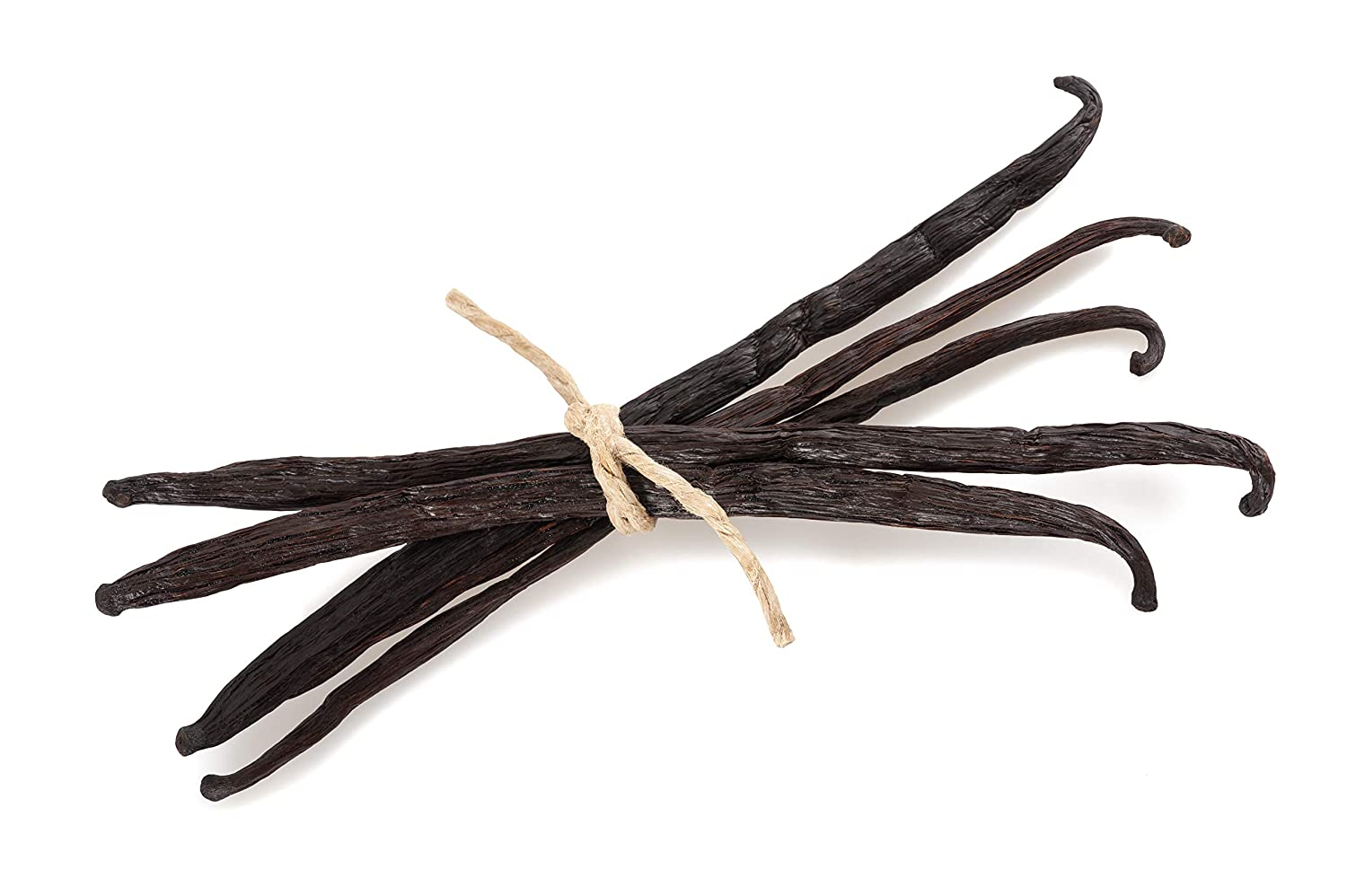5 Madagascar Vanilla Beans - Whole Extract Grade B Pods for Baking, Homemade Extract, Brewing, Coffee, Cooking
