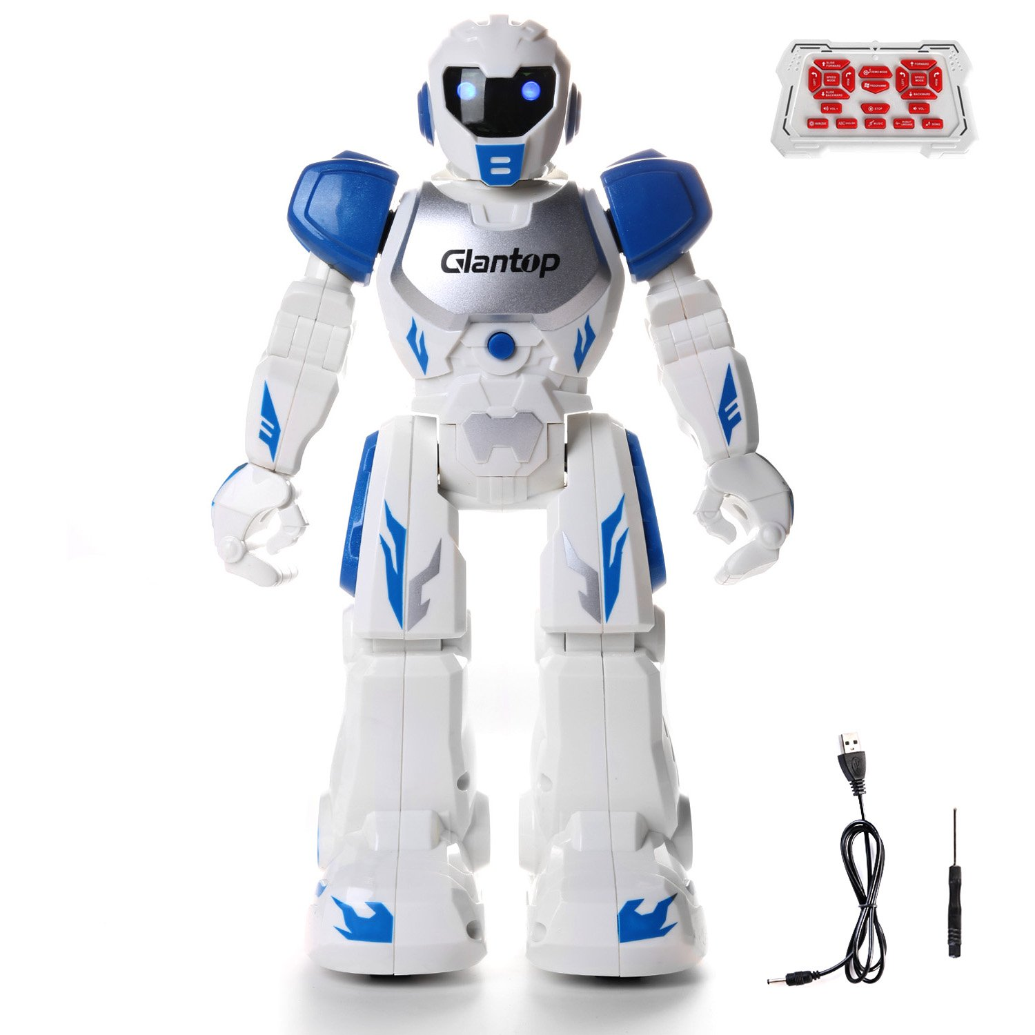Glantop remote control RC robot- walking and dancing robot