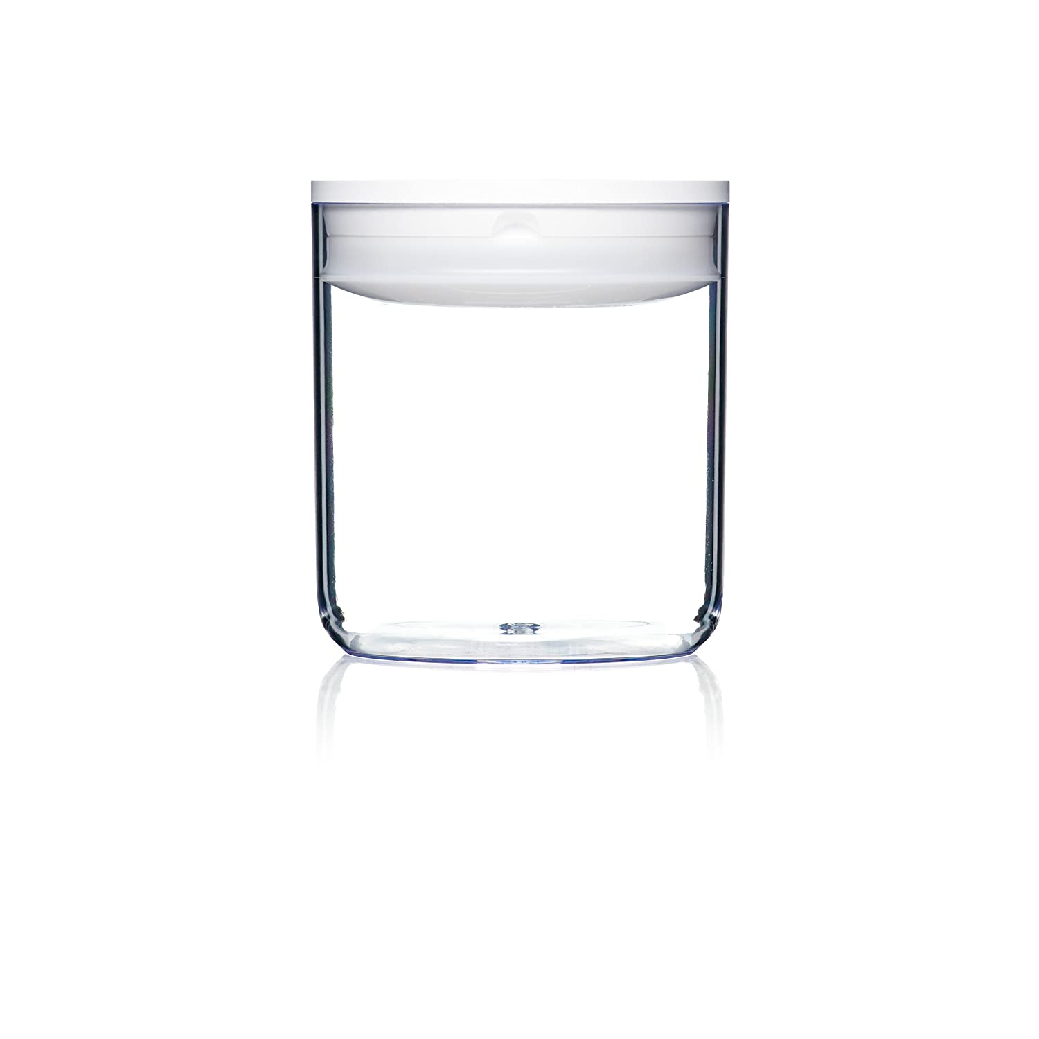 Click Clack Pantry Canister, 0.6-Quart, White Lid 351002