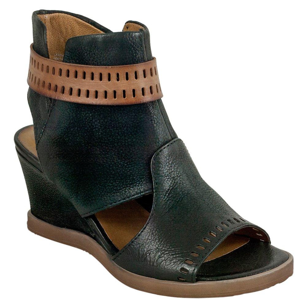 Miz Mooz Brianne Women's Sandal Wedge B0796Z7LBK 37 B EU|Black