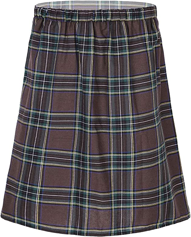 TiaoBug Falda Escocesa Plisada de Hombre Traje Tradicional ...