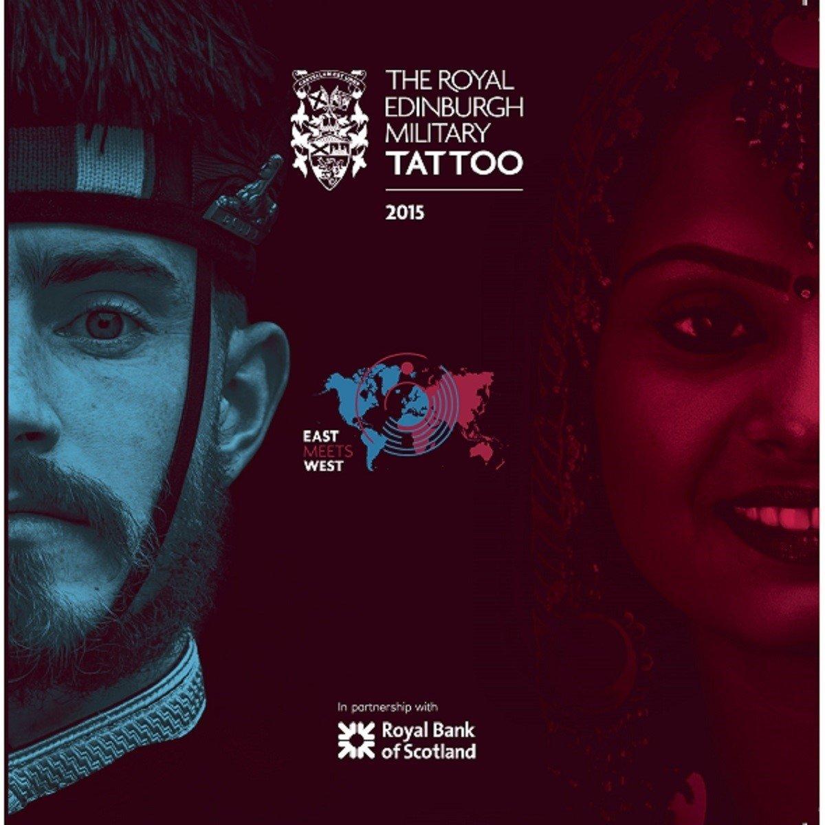CD : Various - The Royal Edinburgh Military Tattoo 2015 (CD)