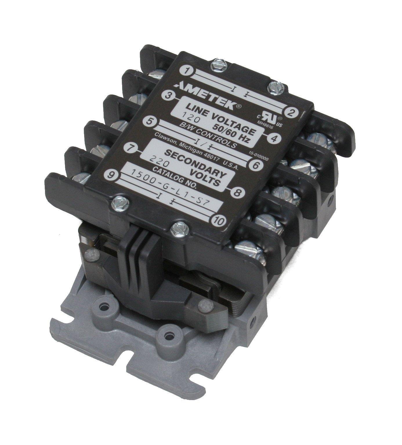 B/W Controls 1500-G-L1-S7 Liquid Level Control Relay