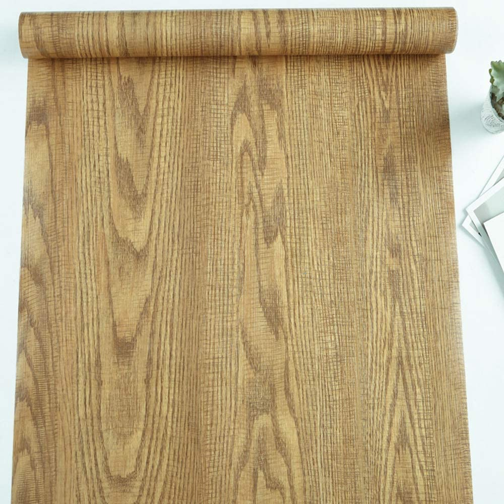 Rustic Wood Grain Contact Paper Self Adhesive Shelf Liner Drawer Cabinet Wall By
