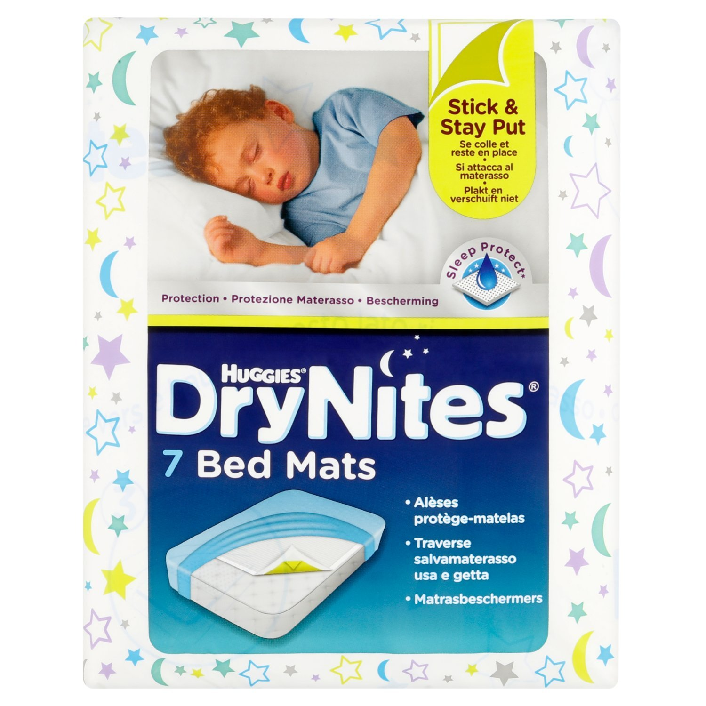 7 pieces Huggies Absorbent Bed Mats