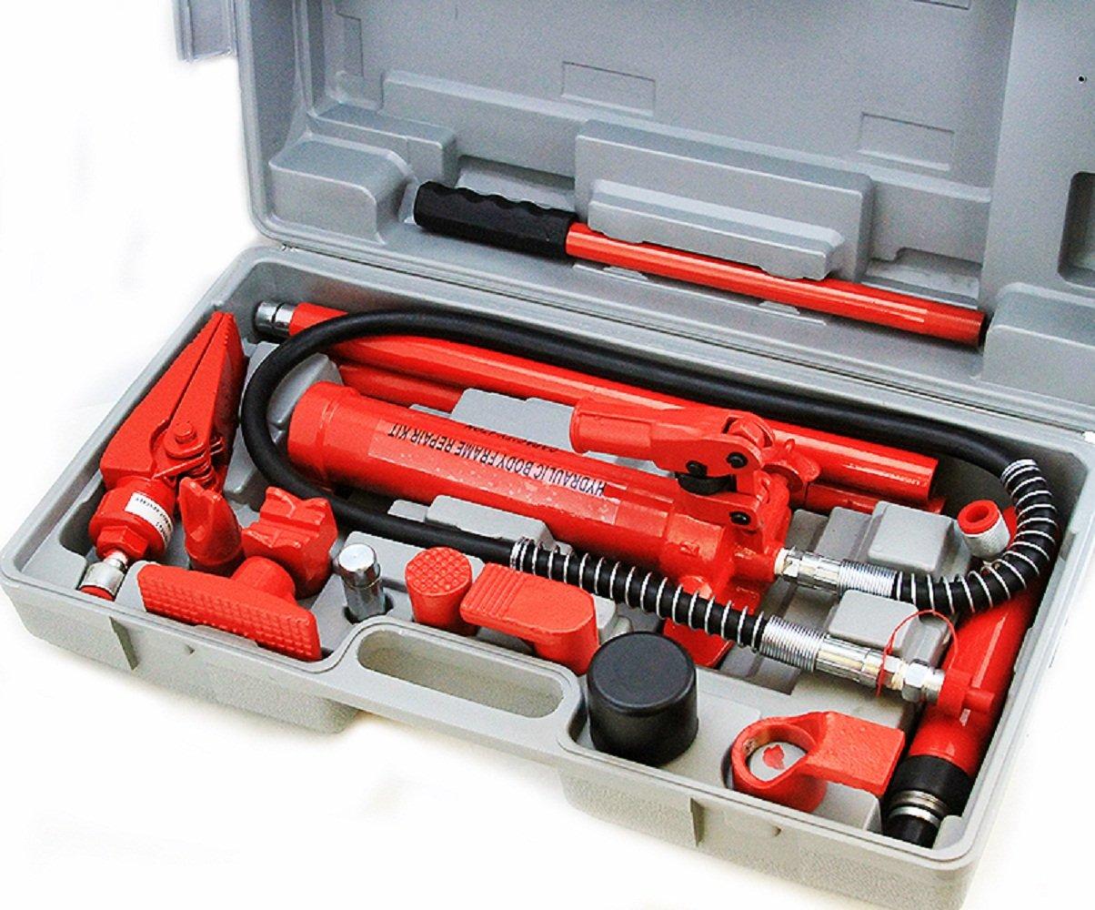 Hd 4 Ton Body Frame Repair Kit Hydraulic Spreader Ram 4 Ton Porta Power 4T Force