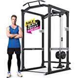 """MaxKare Power Cage with LAT Pulldown Attachments 