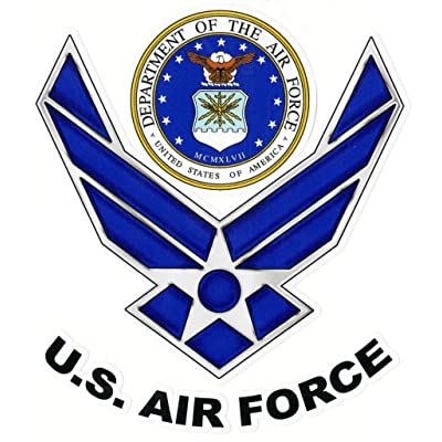 Keen U.S. Air Force Vinyl Decal Sticker|Cars Trucks Vans Walls Laptops|Full Color|5.5 in|KCD750: Automotive