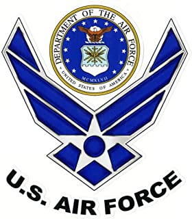 product image for Keen U.S. Air Force Vinyl Decal Sticker|Cars Trucks Vans Walls Laptops|Full Color|5.5 in|KCD750