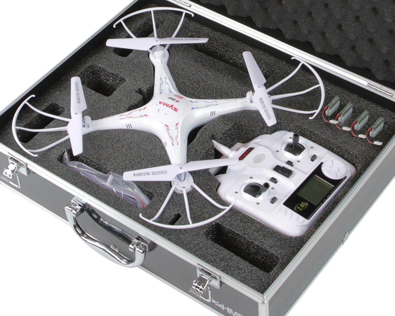 HMF 18301-02, Maletín de transporte, maletín apto para drones Syma ...