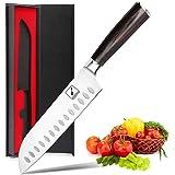 Santoku Knife - imarku 7 inch Kitchen Knife Ultra Sharp Asian Knife Japanese Chef Knife - German HC Stainless Steel 7Cr17Mov