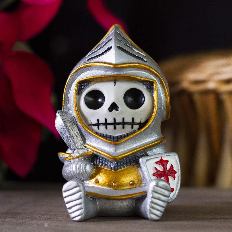 Furrybones Sir Furrybone Skeleton in Knight Armor Costume Figurine