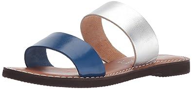 b799329a375 MIA Women s Nila Slide Sandal Navy Silver 6 ...
