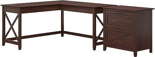 Editors' Choice: Bush Furniture Key West 60W L Shaped Desk