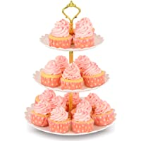 NWK 3-Tier Cupcake Stand With Plastic Dessert Tower