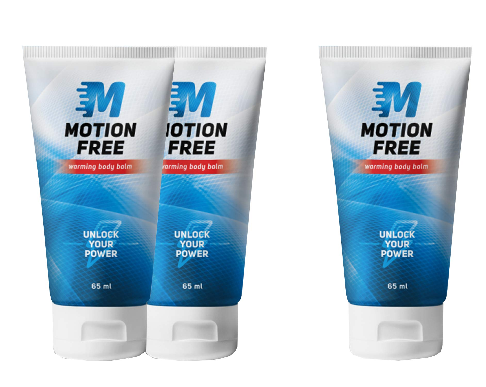 Motion Free – Warming body balm – Muscle and joints balm – 2+1 - by Hendel's Garden
