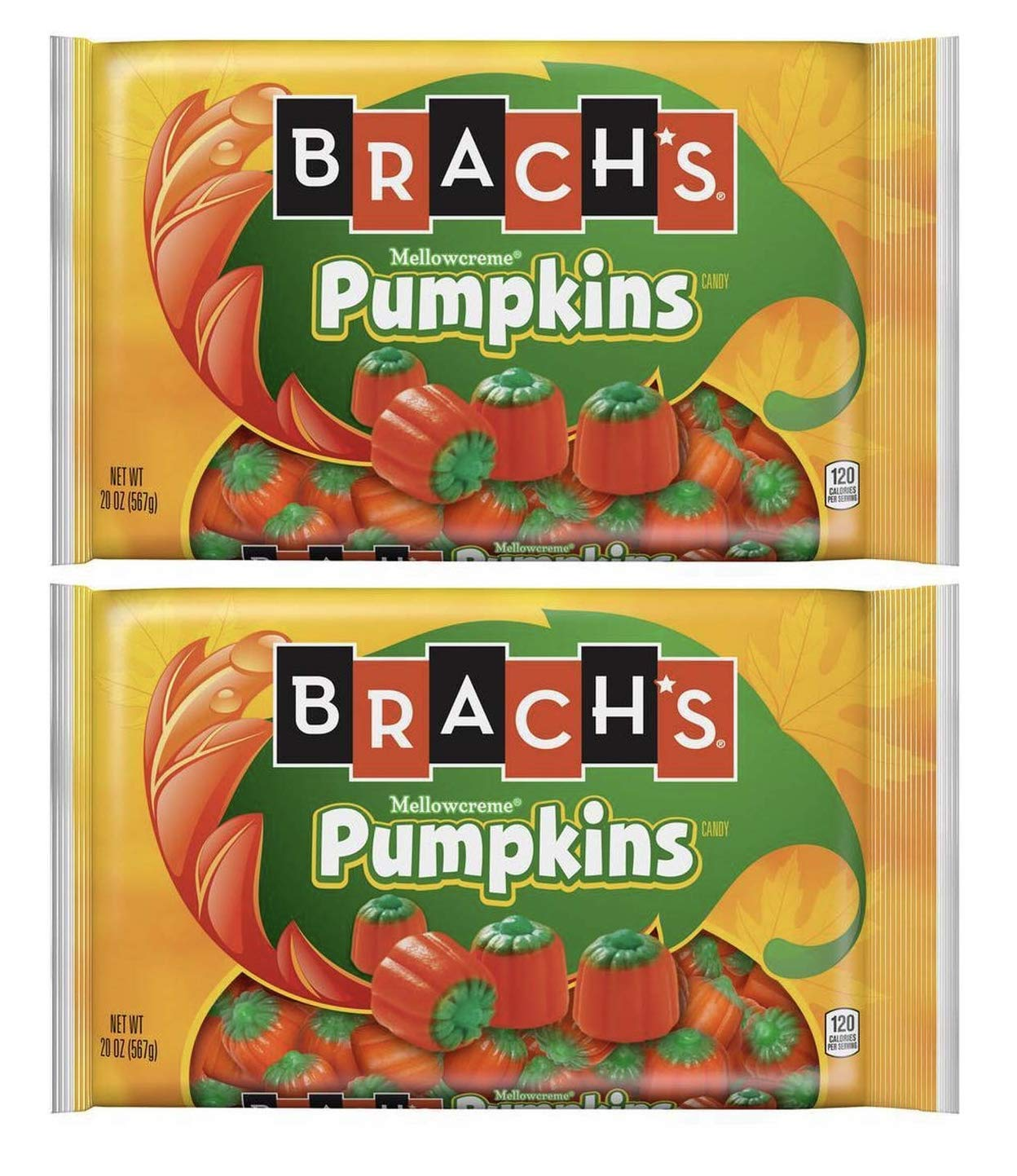 Brachs Mellowcreme Pumpkins, 40oz Total