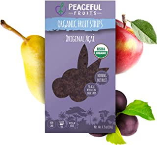 product image for Peaceful Fruits 100% Fruit Strips (Acai, 12 count)