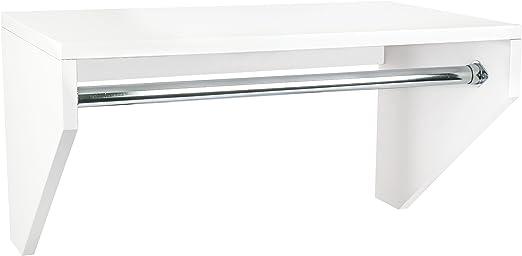 Amazon Com Modular Closets Plywood Shelf And Rod Hanging
