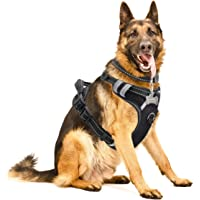Winsee No-Pull Adjustable Dog Harness with Dog Collar