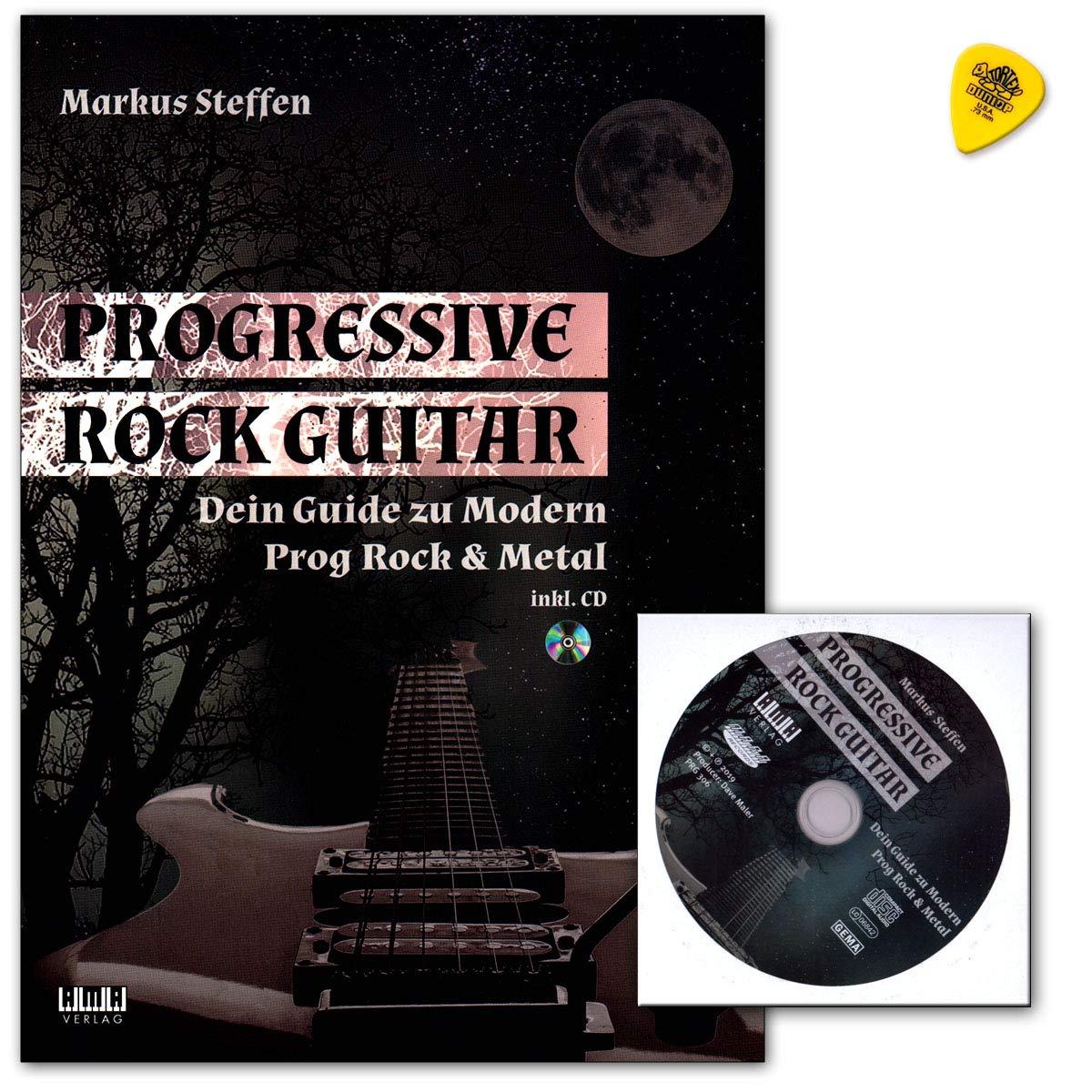 Markus Steffen Progressive Rock Guitar - Libro de guitarra (texto ...