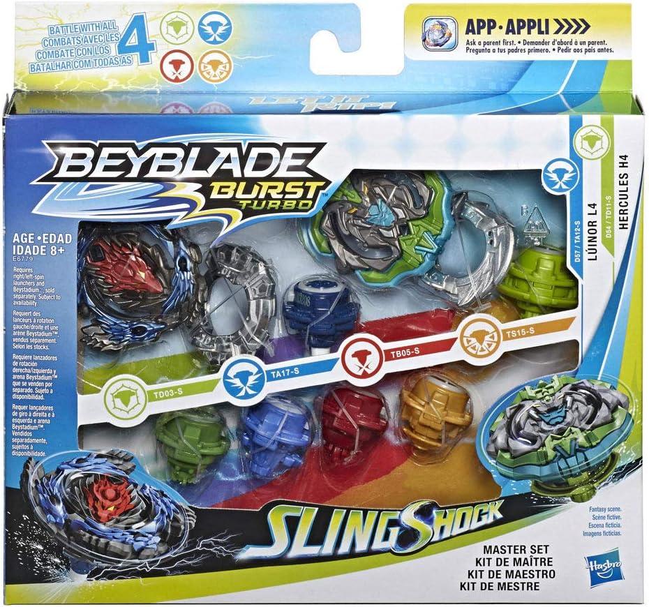 Beyblade Burst Turbo slingshock Precision Strike Launcher-Compatible avec
