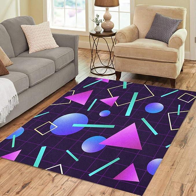 Retro Neon Carpet