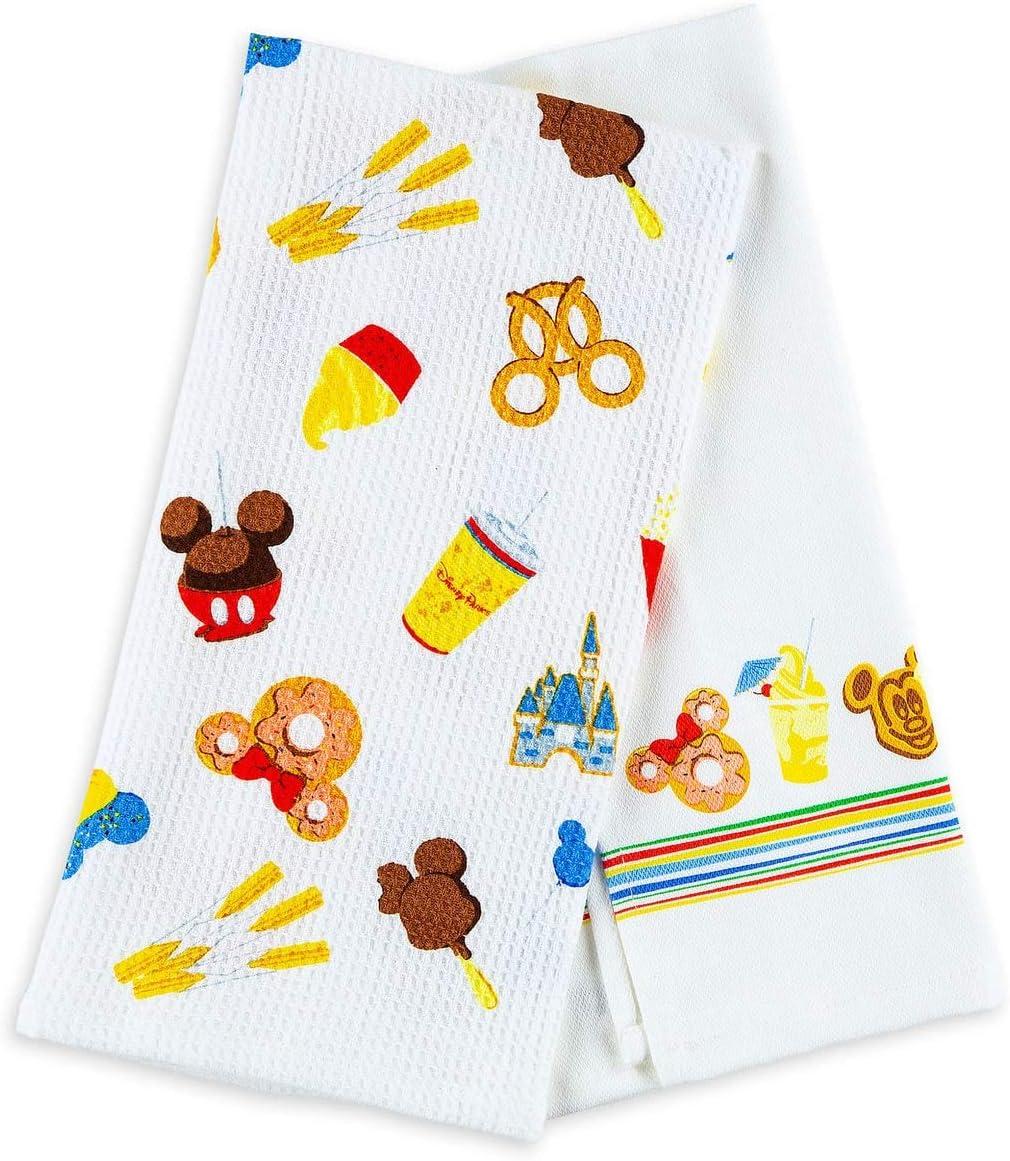 Disney Parks Authentic Food Icons Kitchen Towel Set
