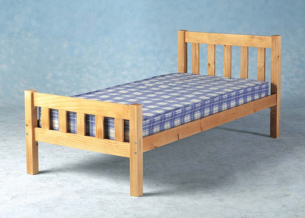 Single bed frame - 3ft 90cm Single Carlow Wooden Bed Frame Amazon Co Uk Kitchen Home