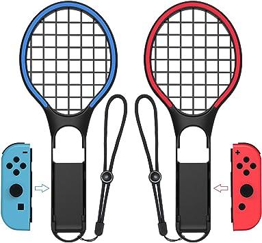 SXLTECH 1 par de Raquetas de Tenis para Nintendo Switch, Dazzling ...