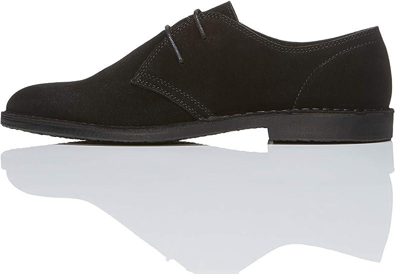 TALLA 44 EU. find. Amz132 - Zapatos de Cordones Derby Hombre