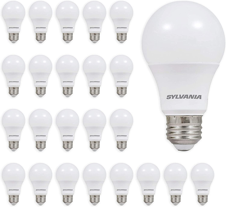 Best Top Quality Light Bulbs: Ledvance Sylvania A19 Light Bulbs.