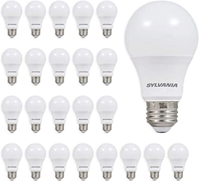 Case of 24 100 watt Sylvania Rough Service Light Bulbs
