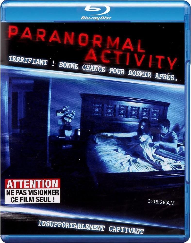Paranormal Activity [Blu-ray] [FRANCES]: Amazon.es: Cine y Series TV