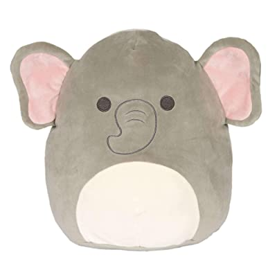 "Squishmallow Original Kellytoy Mila The Elephant 12"" Super Soft Plush Toy Stuffed Animal Pet Pillow Gift Holiday Christmas: Toys & Games"