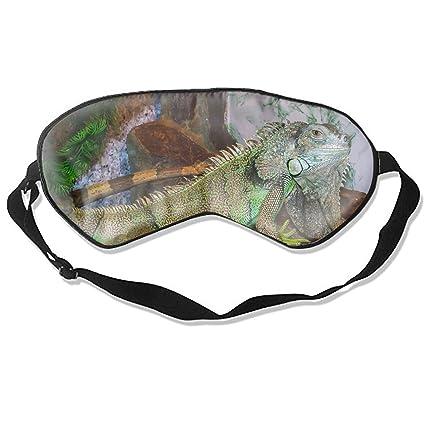 Animal Iguana Lizards - Máscara de ojo para viajes, siestas ...