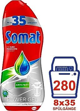 Somat Perfect Gel Para Lavavajillas Paquete De 8 Botellas De