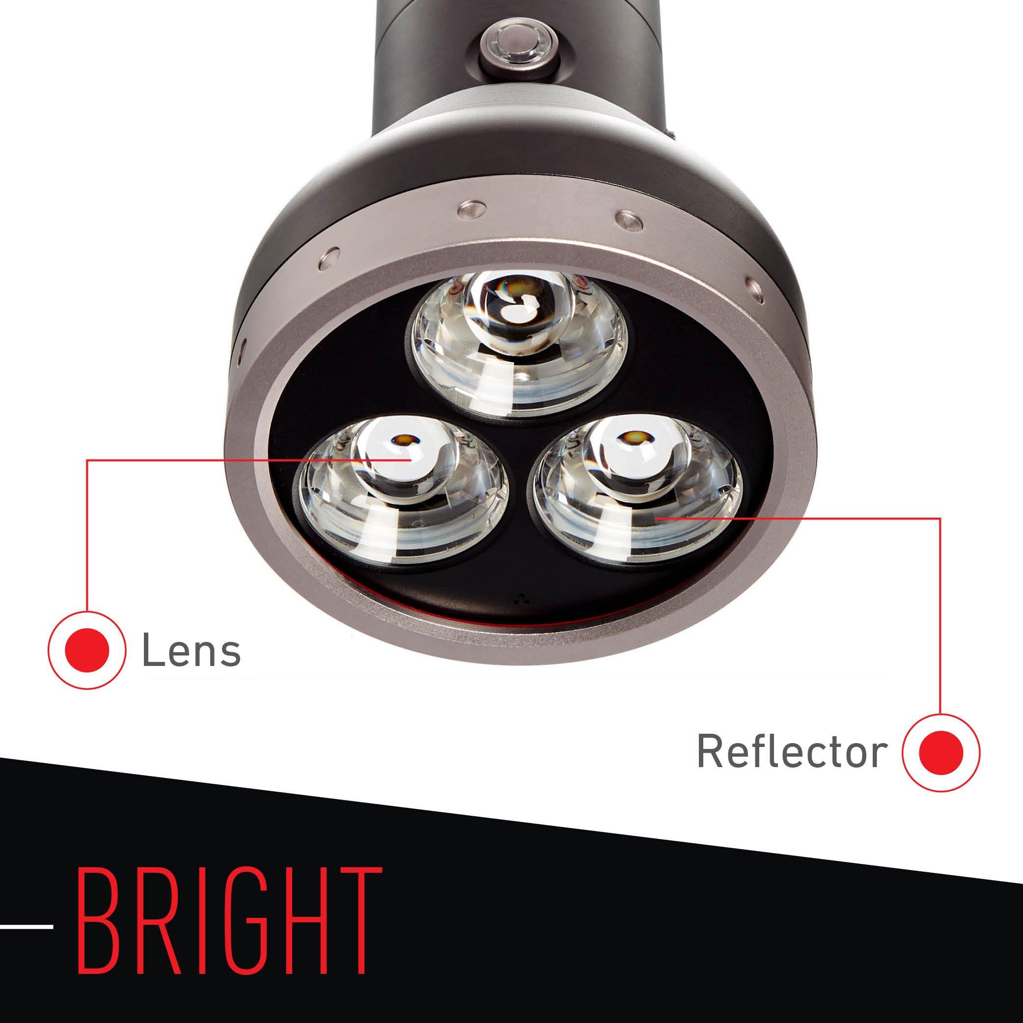 Led Lenser - 3000 Lumens, MT18 Flashlight with Rapid Focus System by LED Lenser (Image #2)