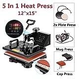 Apelila Heat Press Sublimation Machine, Heat