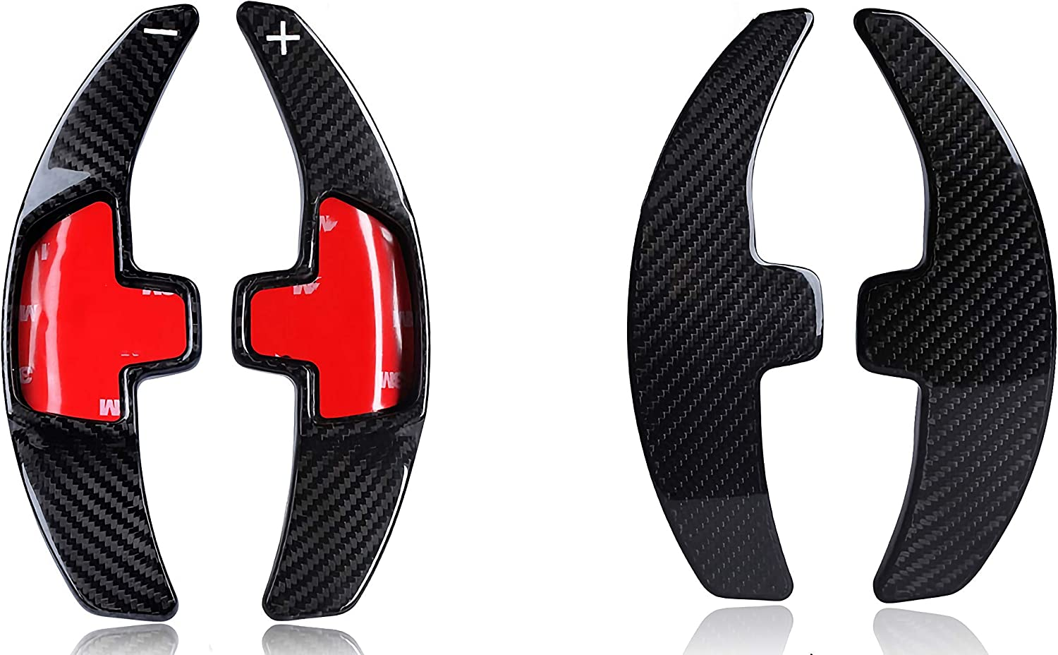 Full Carbon Genuine Carbon Shift Paddles Shift Paddles Suitable For Mercedes A B Gla C Cla Glc E Gle Class Gls Amg43 Auto