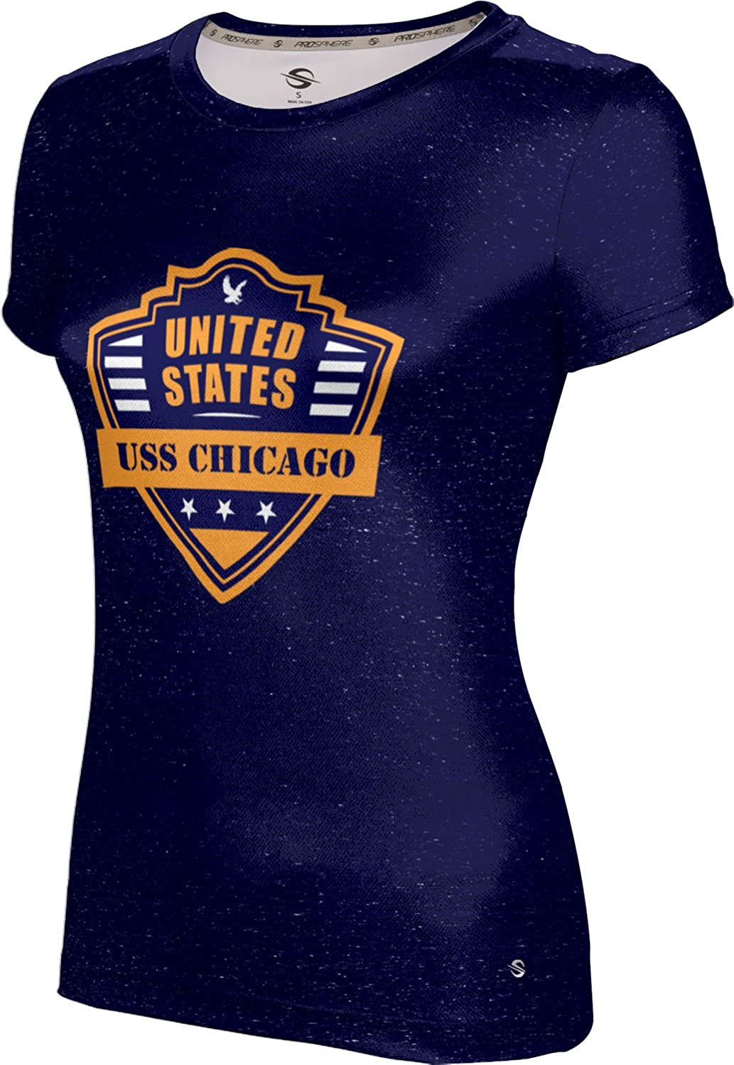 ProSphere Women's USS Chicago Military Heather Tech Tee