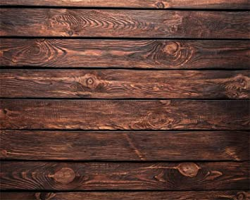 YongFoto 10x10ft Brown Jointed Board Backdrop Vintage Texture Wooden Wall Floor Photography Background Rustic Nature Wood Interior Decor Kids Adult Portrait Photo Banner Studio Props Wallpaper