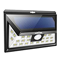 Deals on Z Tech Solar Powered Motion Sensor Weather Proof 32 LED Light