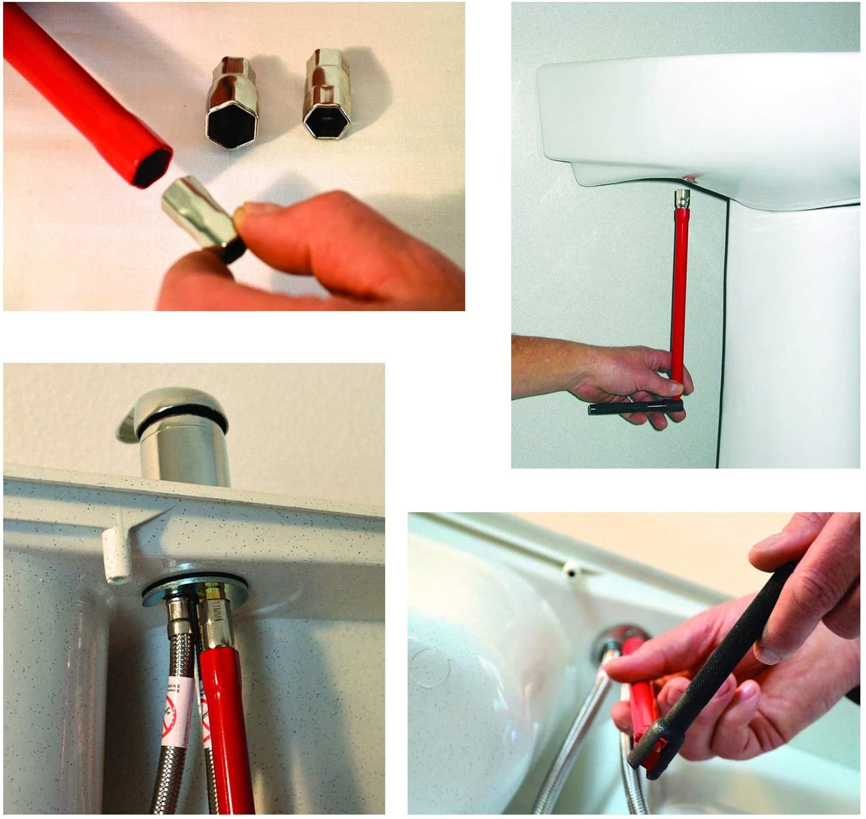 8-13mm Wrench Socket Plumber Back Nut Kit Tap Installation Tool Bathroom Faucet