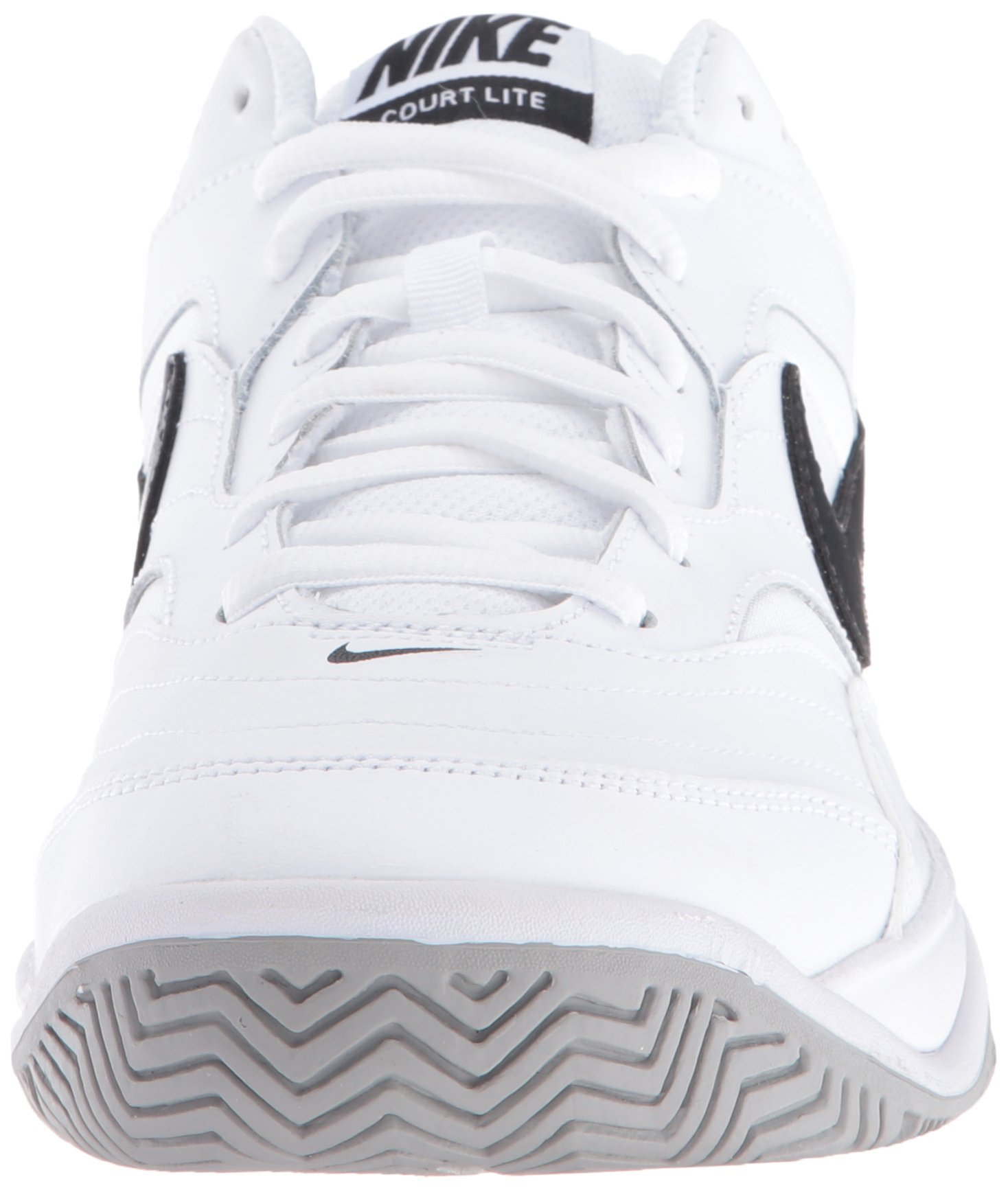 NIKE Men's Court Lite Tennis Shoe, White/Medium Grey/Black, 6.5 D(M) US by Nike (Image #4)