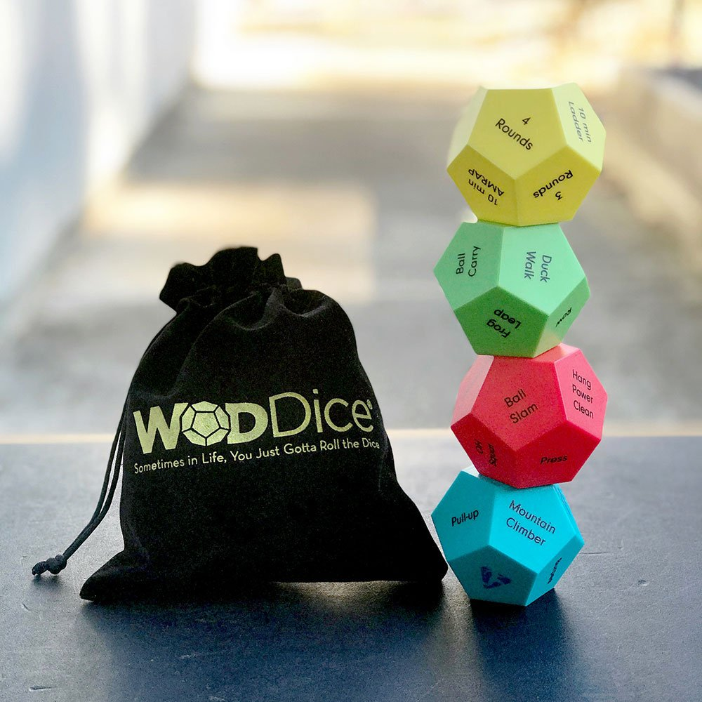 WODDice Kids Exercise Dice